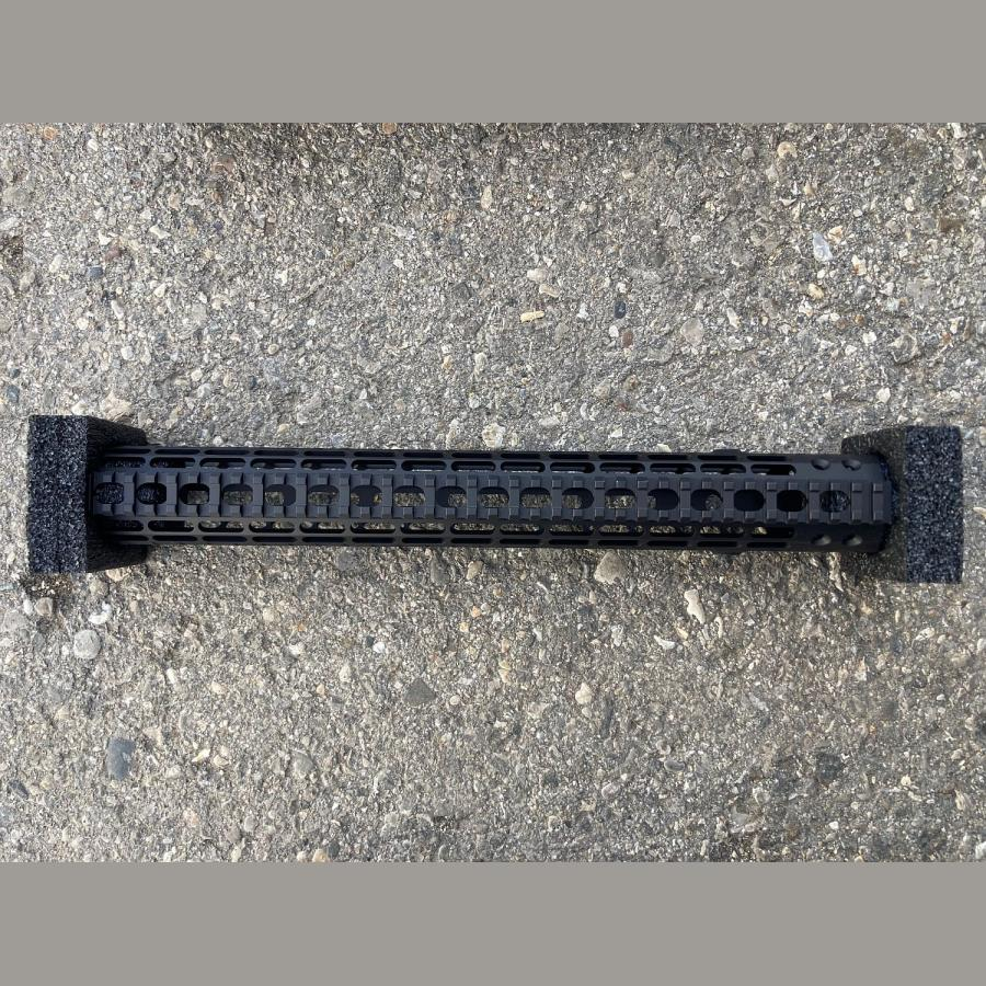 Original AERO PRECISION AR10/M5 M5 15″ Enhanced M-LOK Handguard, Gen 2 – Anodized (w/ DPMS Barrel Nut) (CP) .308Win.