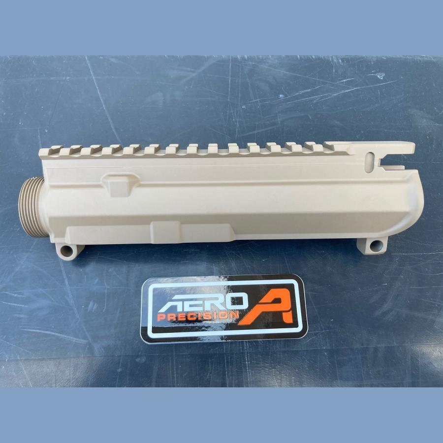 Original AERO PRECISION M4E1 Threaded Stripped (leer) Upper Receiver – FDE