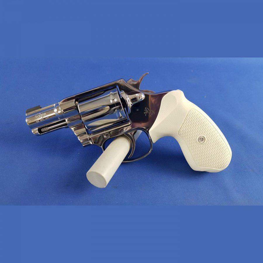 Revolver Colt Cobra Stainless LL: 2″ Kal. 38Spec. Rarität