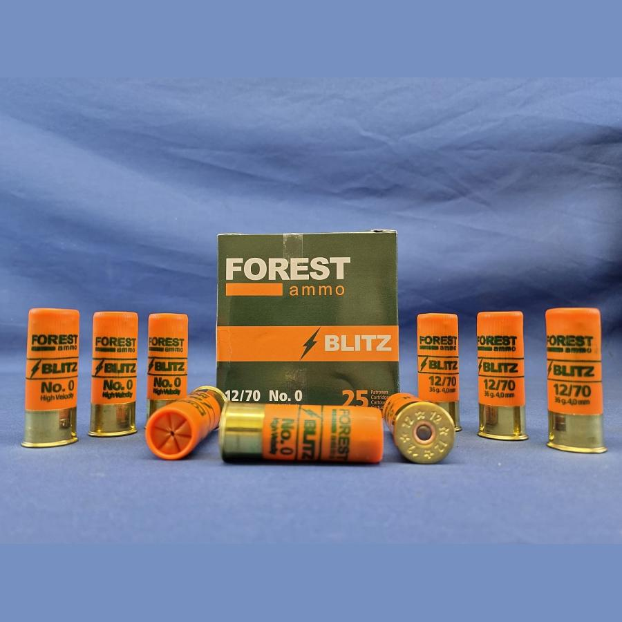 Forest Ammo 12/70 Blitz High Velocity 4,0mm 36g