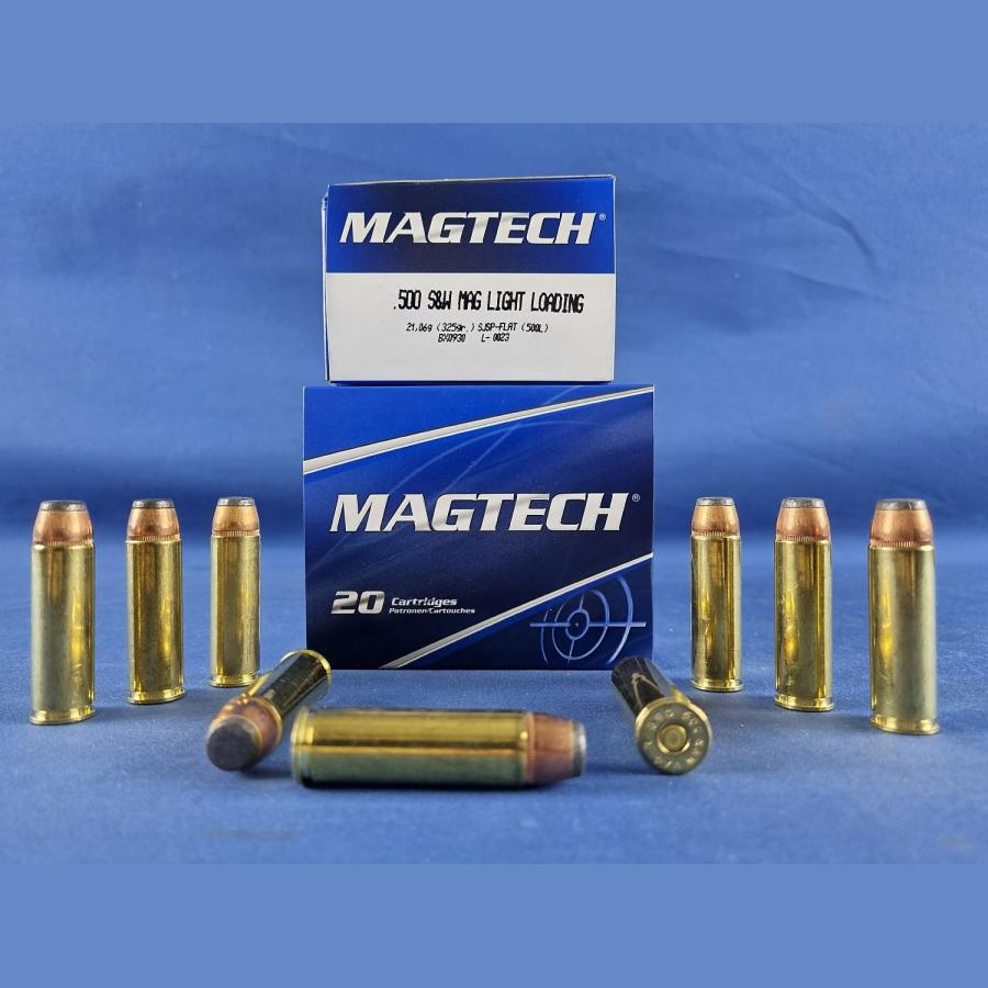 Magtech .500 S&W Teilmantel Flachkopf 21,0g/325grs.