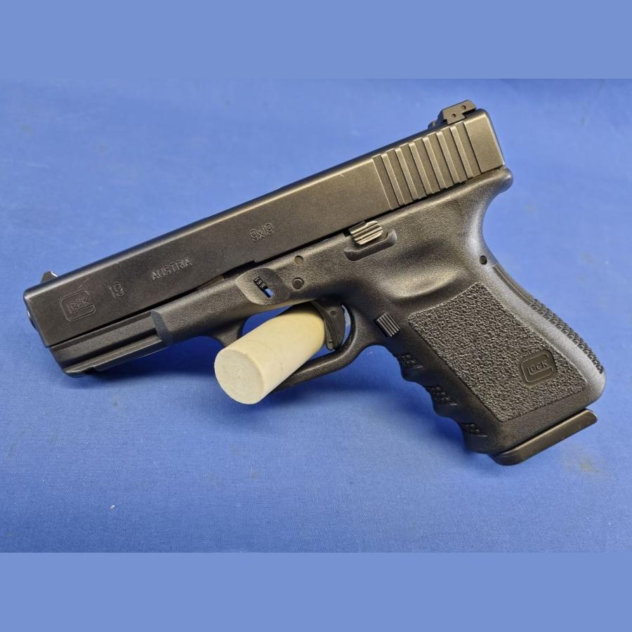 Pistole Glock19 Gen3 Kal.9x19mm Vorführwaffe