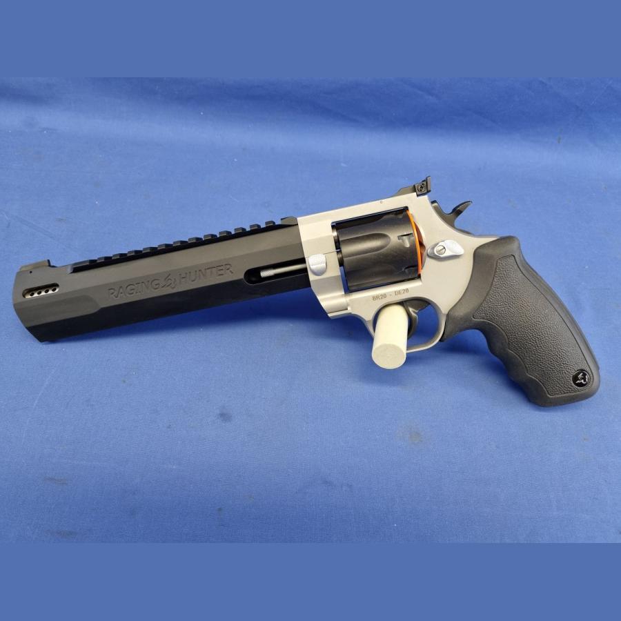 Revolver Taurus Raging Hunter Duotone – 8 3/8″ mit Kompensator Kal. .357Mag.