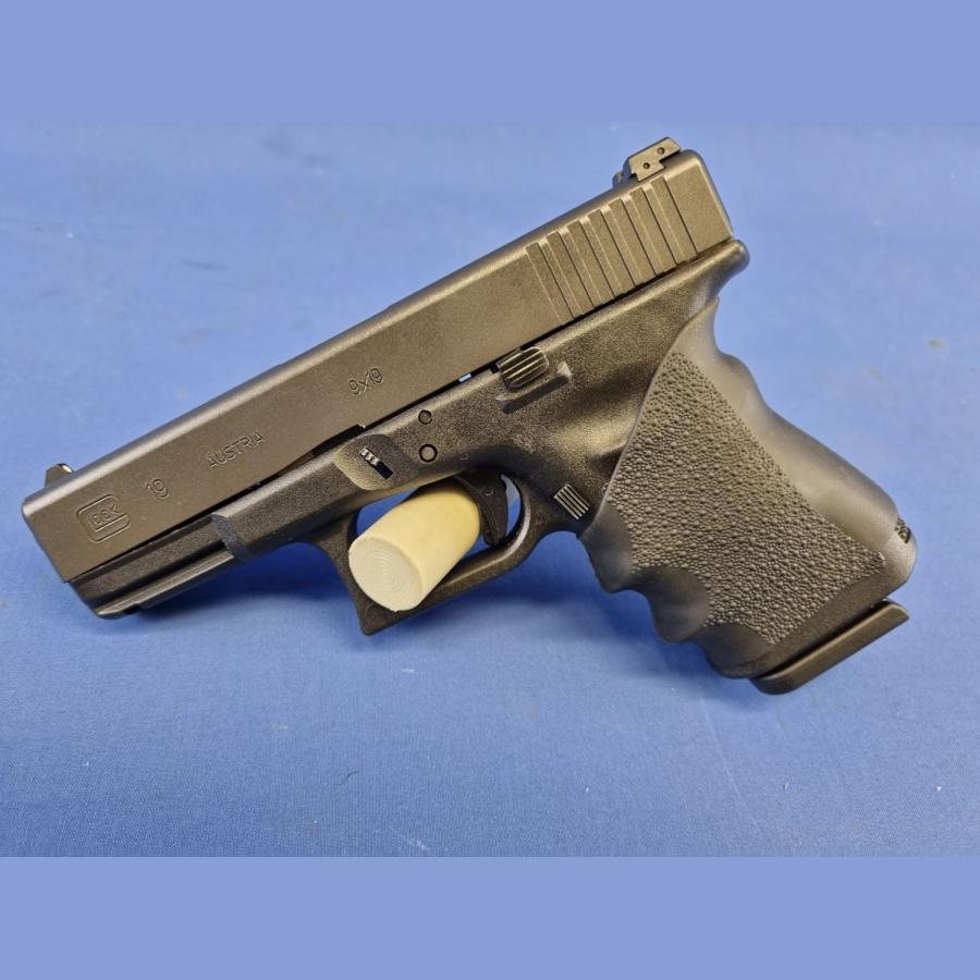 Pistole Glock19 Gen3 mit Pachmayr Griffüberzug Kal.9x19mm
