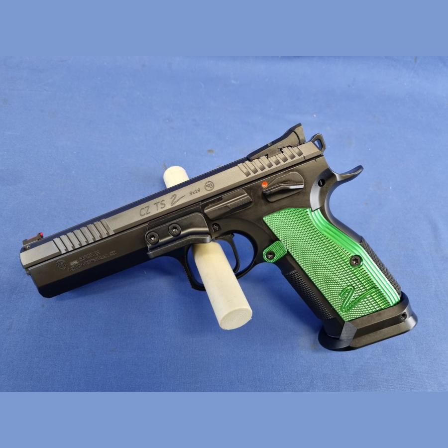 Pistole CZ75 TS 2 Racing Green Kal. 9x19mm