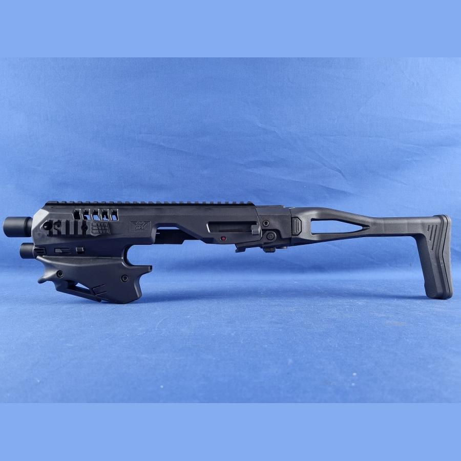 Original MCK Micro Conversion Kit Roni für Glock Pistolen CAA RONI MICRO CONVERSION KIT für GLOCK 17/18/19/19X/22/23/31/32/45 GEN3-5 black neu OVP schwarz