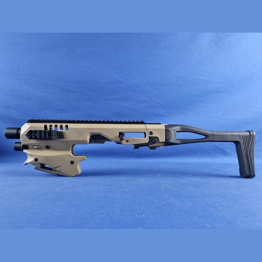 Original MCK Micro Conversion Kit Roni für Glock Pistolen CAA RONI MICRO CONVERSION KIT für GLOCK 17/18/19/19X/22/23/31/32/45 GEN3-5 sand