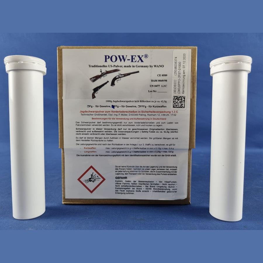Pow-Ex Safety Tubes FFg in Sicherheitsverpackung (16 x 62,5g)
