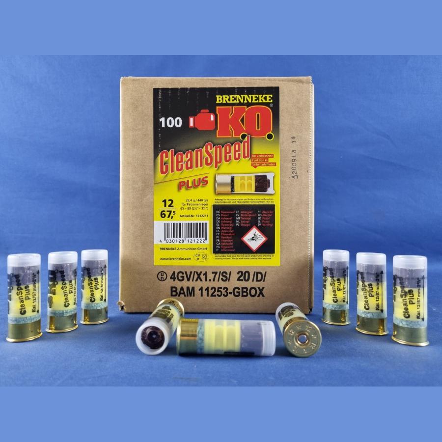 Brenneke K.O. CleanSpeed Plus für Selbstladeflinten 440grs/28,4g