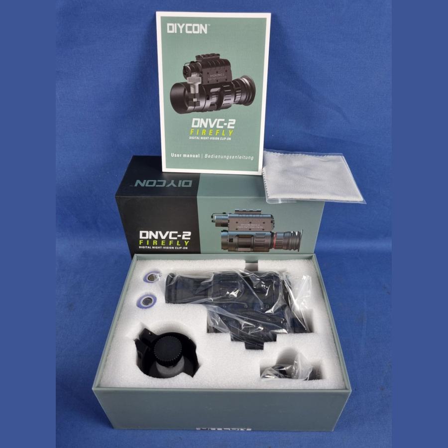 Diycon Dual-Use-Nachtsichtgerät DNVC-2 Firefly inkl. IR-LED Aufheller Predator 2 – Set