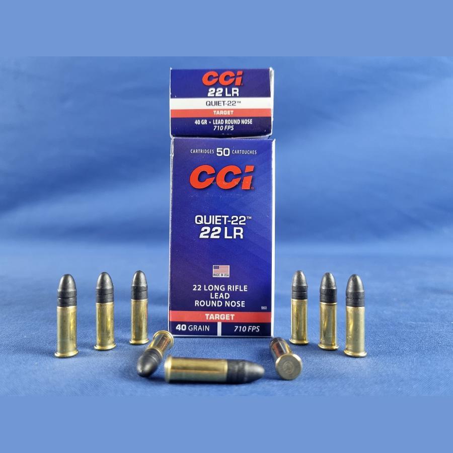 CCI .22 lfB. Quiet-Subsonic 2,6g/40grs.
