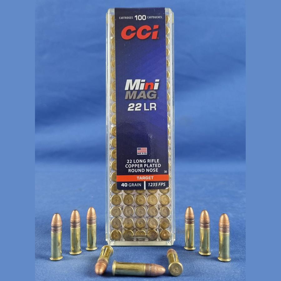 CCI .22 lfb. Mini Mag. 2,6g/40grs.