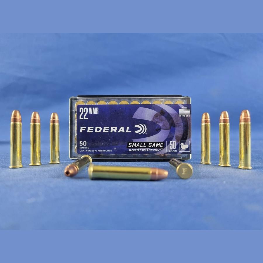 Federal Ammunition .22 Win. Mag. Game-Shok JHP 3,24g/50grs.