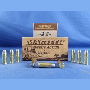 Magtech .44 S&W Special Blei-Flachkopf 15,5g/240grs.